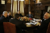 Dmitry Medvedev held talks with President of Moldova Vladimir Voronin, and Igor Smirnov, head of Transdniester